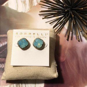 Sorrelli Pacific Opal Essentials Stud Earrings